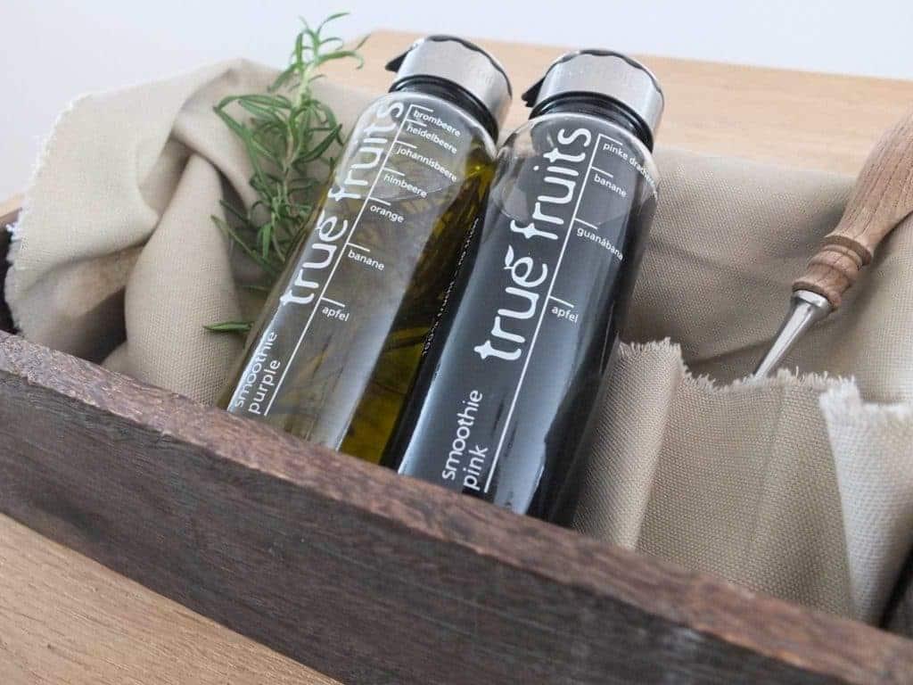 Wohngoldstück Upcycling Flaschen & Gläser Küche Ölspender Essigspender