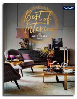 Wohngoldstück_Buch Best of interior 2018 Callwey Verlag