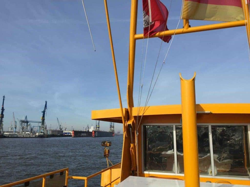 Fähre Elbstrand Hamburg