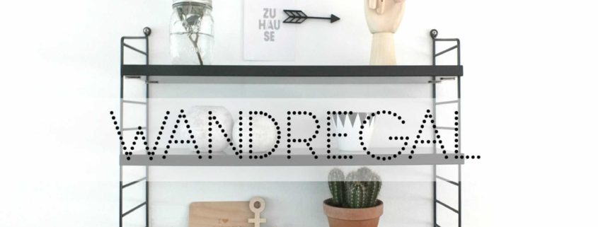 wandregal ein regal 3 styling ideen fr kche bad wohnzimmer - Wandregal Fur Kuche