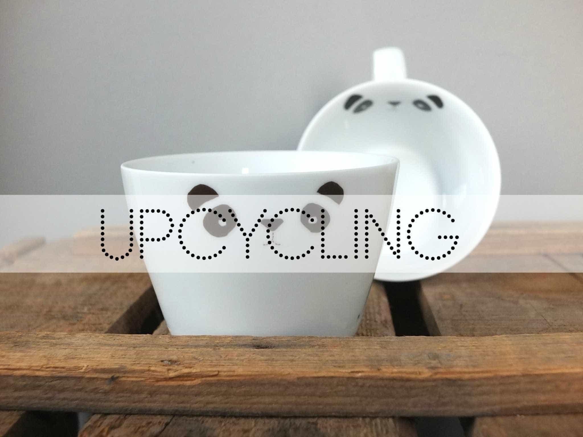 WOHNGOLDSTÜCK » [Upcycling] ↠ Porzellansticker! So einfach ...