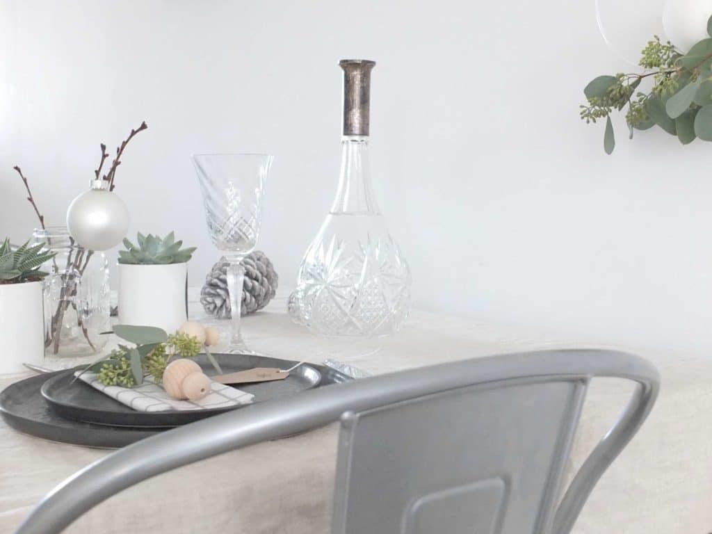 Wohngoldstück_Table Setting weihnachtliche Tischdeko