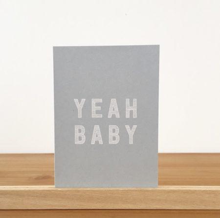 Wohngoldstück_Postkarte Papier Ahoi Yeah Baby Junge