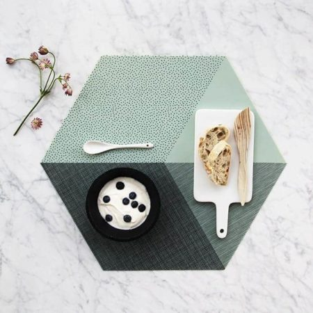 Wohngoldstück_Tischset By May Mint