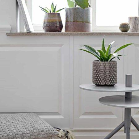 Wohngoldstück_Bloomingville Vase Grau