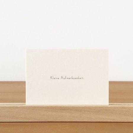 Wohngoldstück_Mini-Postkarte Papier Ahoi Kleine Aufmerksamkeit