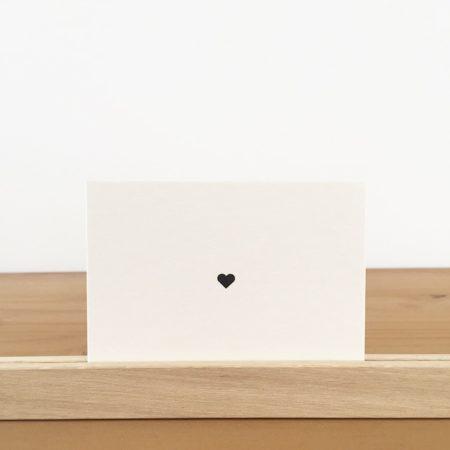 Wohngoldstück_Mini-Postkarte Papier Ahoi Herz