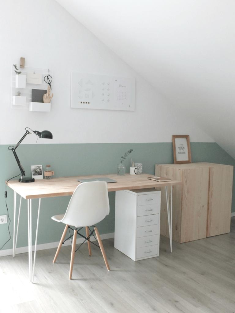 WOHNGOLDSTÜCK » Interiør | Home Office im Scandi-Look! »