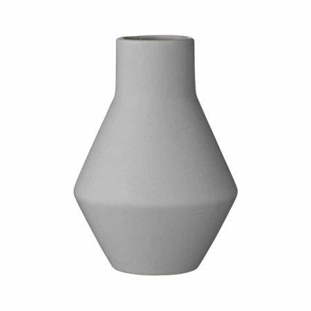 Wohngoldstück_Bloomingville Vase Terrakotta Grau