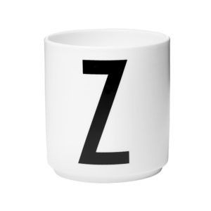 Wohngoldstück_Porzellanbecher Design Letters A-Z Arne Jacobsen