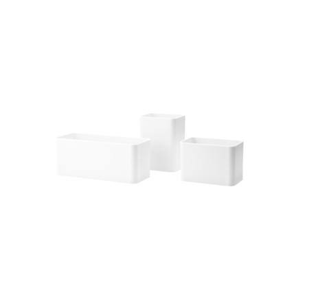 Wohngoldstück_String Organizer Boxen Weiß