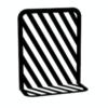 Wohngoldstück_Weld und Co Buchstütze Grid