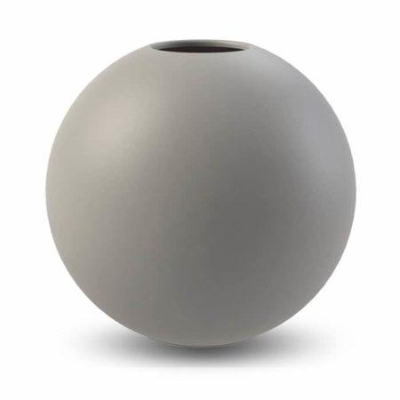 Wohngoldstück_Vase 30cm Grau Cooee Design