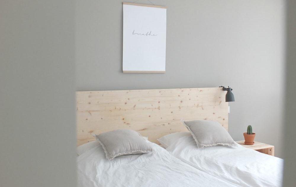 WOHNGOLDSTÜCK » Ikea Hack   Eine Neue Rückwand Für Das Malm Bett! Mit Ganz  Viel Natürlichkeit.. »