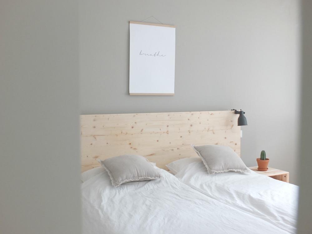 Wohngoldstück_Ikea Hack Malm Bett Rückwand