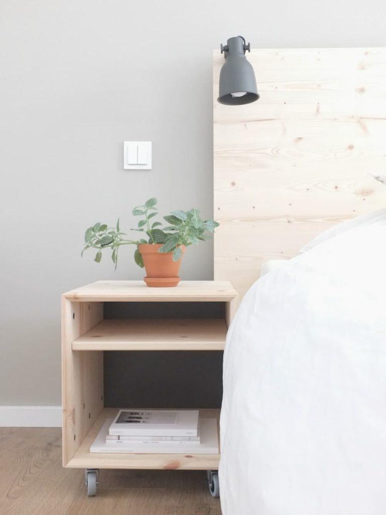 Ikea malm bett  WOHNGOLDSTÜCK » Ikea-Hack | Eine neue Rückwand für das Malm Bett ...