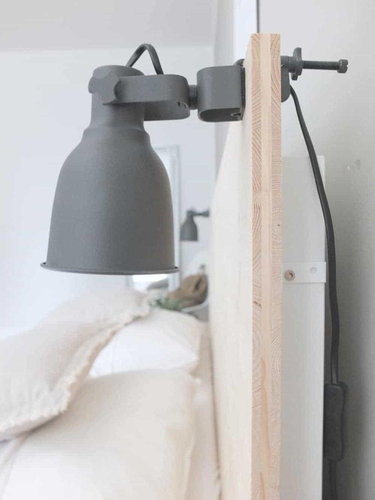 Ikea hack bett  WOHNGOLDSTÜCK » Ikea-Hack | Eine neue Rückwand für das Malm Bett ...