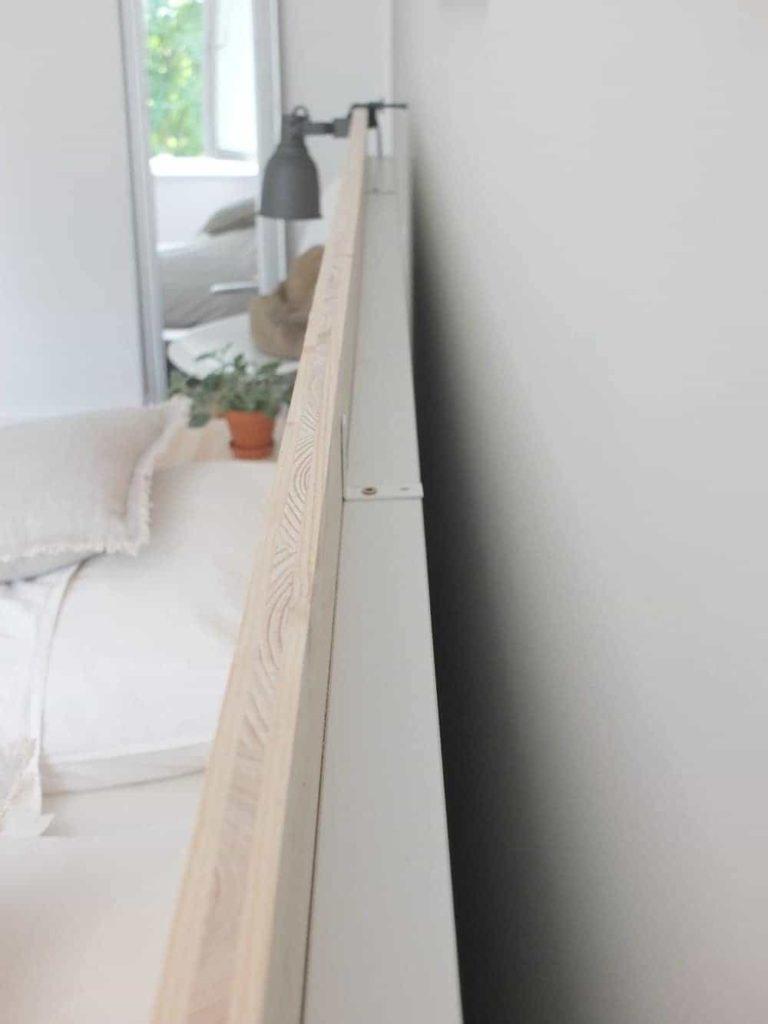 wohngoldstÜck » ikea-hack | eine neue rückwand für das malm bett
