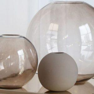 Wohngoldstück_Vase 10cm Sand Cooee Design
