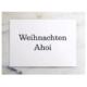 Wohngoldstück_Postkarte Herr Fuchs Weihnachten Ahoi