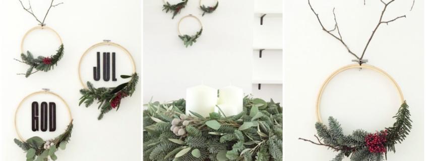 WohngoldstueckCreate yourself a merry little christmas 2017 wanddeko stickrahmen Beitragsbild