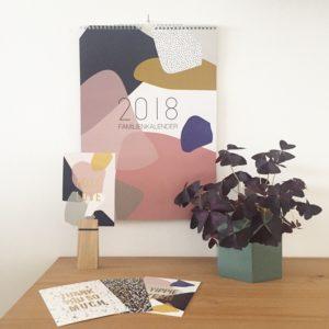 Wohngoldstück_Kalender 2018 Postkarten Kreativkollaps