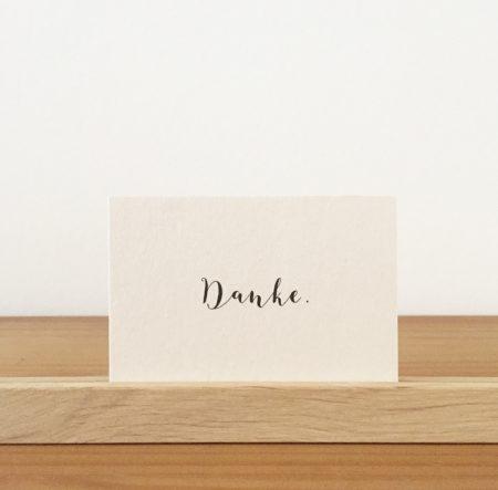 Wohngoldstück_Mini-Postkarte Papier Ahoi Danke