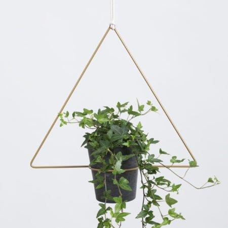 Wohngoldstück_Plant Hanger Trigona Gold Draad Zaken