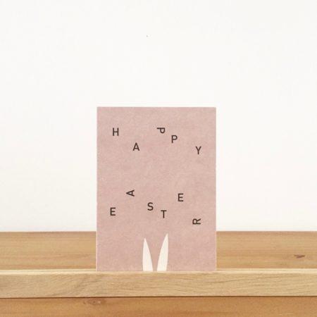 Wohngoldstueck_Postkarte Papier Ahoi Happy Easter