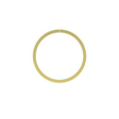 Wohngoldstück_Ring Wreath Brass 20cm Cooee Design