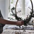 Wohngolstück_Ring Wreath Brass 40cm Cooee Design