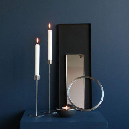 Wohngoldstück_Ring Wreath Stainless Steel 40cm Cooee Design