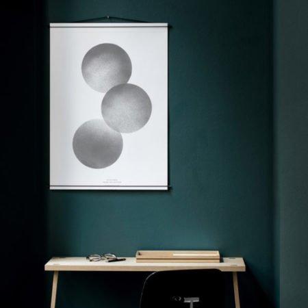 Wohngoldstueck_Poster Hanger Schwarz 50x70 Moebe