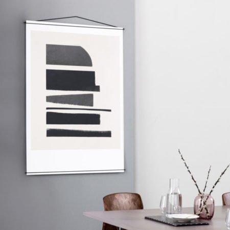 Wohngioldstuewck_Poster Hanger Schwarz 50x70 Moebe