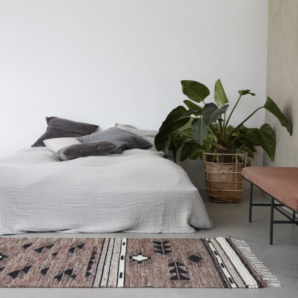 teppich tribe 90x200cm von house doctor wohngoldst ck. Black Bedroom Furniture Sets. Home Design Ideas
