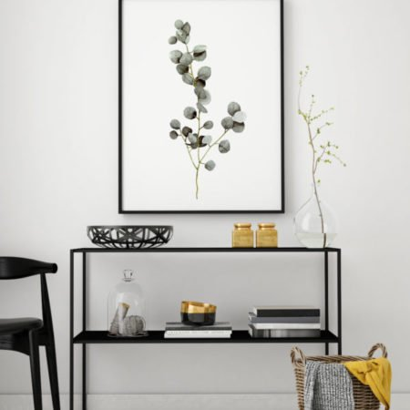 Wohngoldstueck_Kunstdruck Leo la Douce Eucalyptus