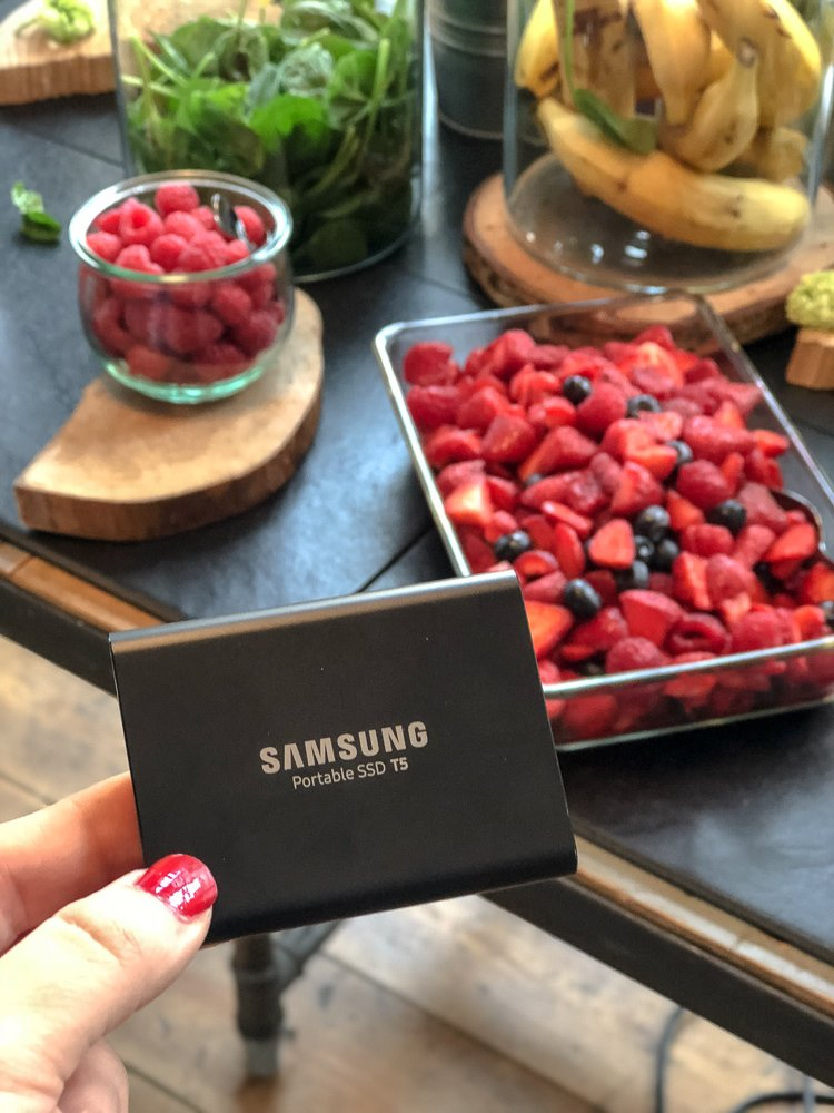 Samsung Portable SSD T5 Home Office Wohngoldstück