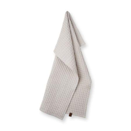 Wohngoldstueck_Humdakin Guest Towel Waffle Light Stone