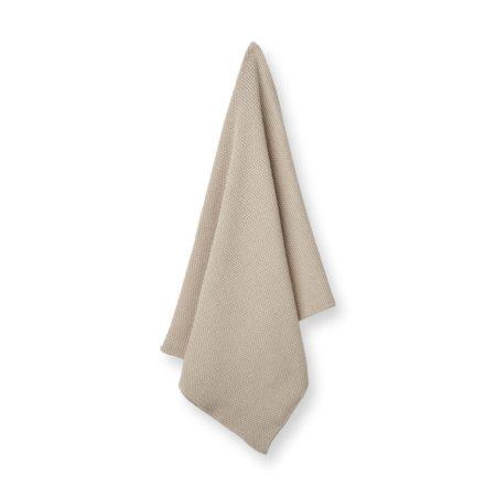 Wohngoldstueck_Humdakin Kitchen Towel Knitted Light Stone