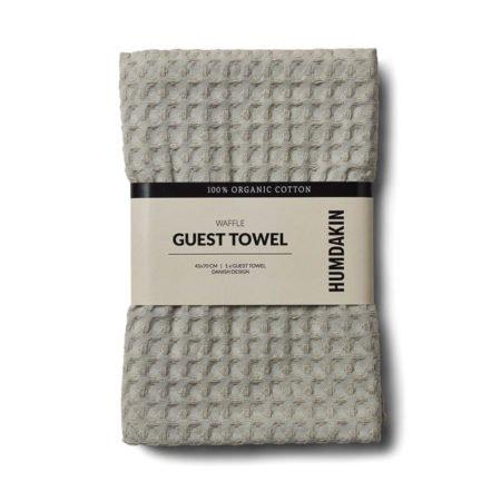 Wohngoldstueck_Humdakin Guest Towel Waffle Stone