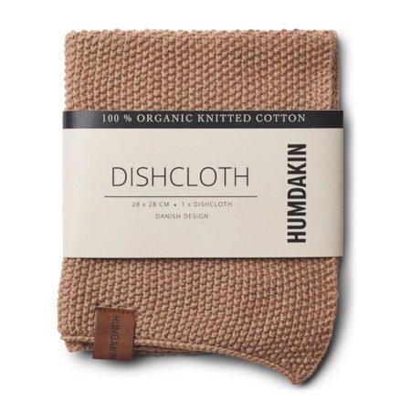 Wohngo0ldstück_Humdakin Dishcloth Knitted Latte
