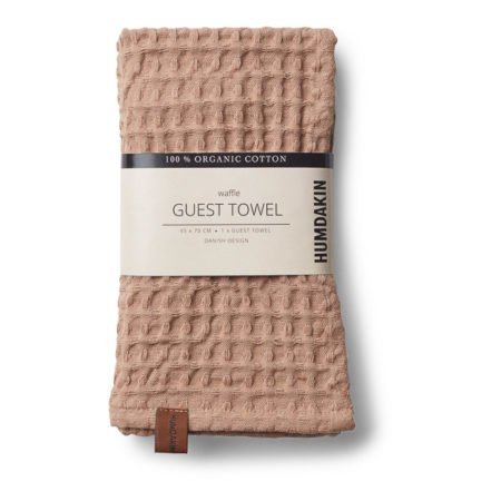 Wohngoldstueck_Humdakin Guest Towel Waffle Latte