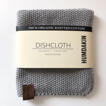 Wohngoldstueck_Humdakin Dishcloth Knitted Stone