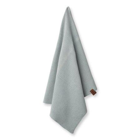 Wohngoldstueck_Humdakin Kitchen Towel Knitted Stone