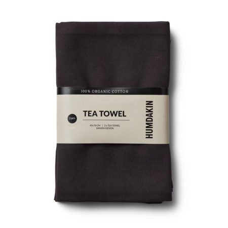 Wohngoldstueck_Humdakin Tea Towel Coal