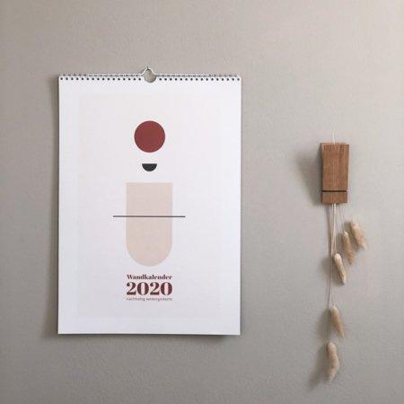 Wandkalender 2020 Paulsvera Wohngoldstueck
