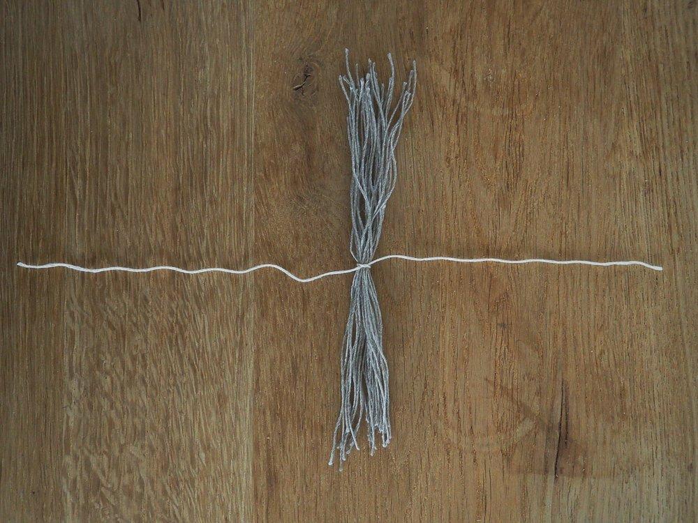 Wohngoldstueck_DIY Weihnachtliche Quaste Tischedeko Geschenkverpackung Baumschmuck