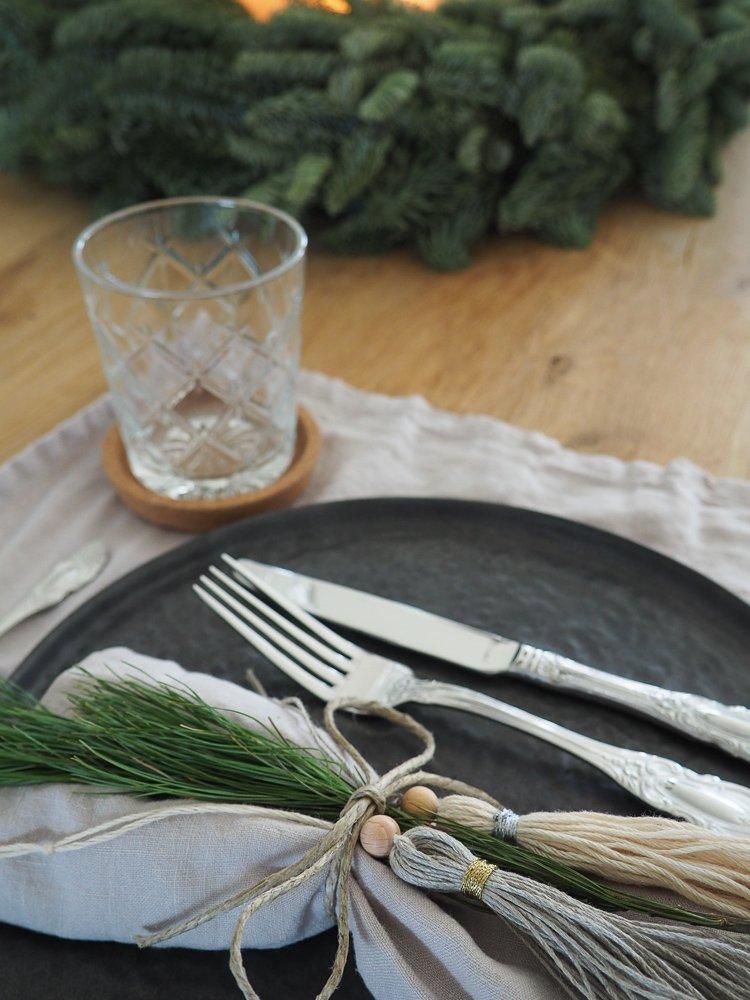DIY Weihnachtliche Quaste Tischedeko Geschenkverpackung Baumschmuck