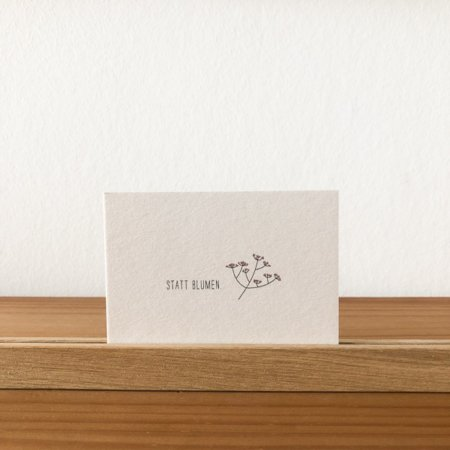 Wohngoldstueck_papier ahoi mini Postkarte statt Blumen