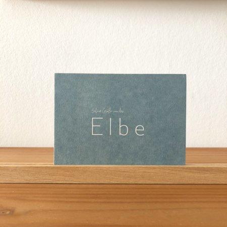 Wohngoldstueck_Postkarte Papier Ahoi Schöne Grüße von der Elbe